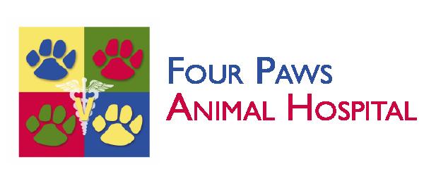 Logo for Veterinarians Statham Georgia | Four Paws Animal Hospital