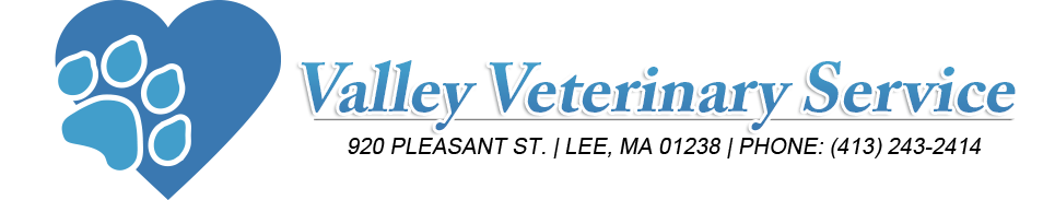 Logo for Valley Veterinary Services Lee Massachusetts